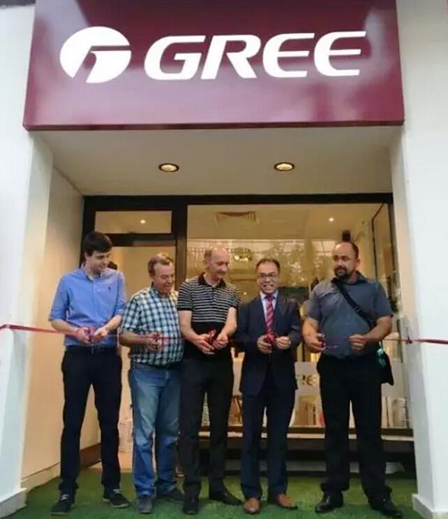 Gree Yurt Dışı Bayi Açılış
